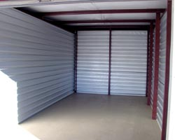 Our inside storage units are perfect for household goods and business storage.
